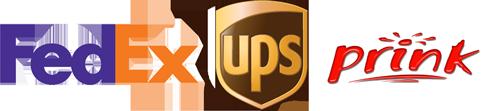 MBE ist Partner von FedEx, UPS und prink