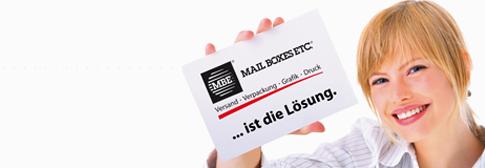 Dienstleistungen von Mail Boxes ETC. in Elmshorn